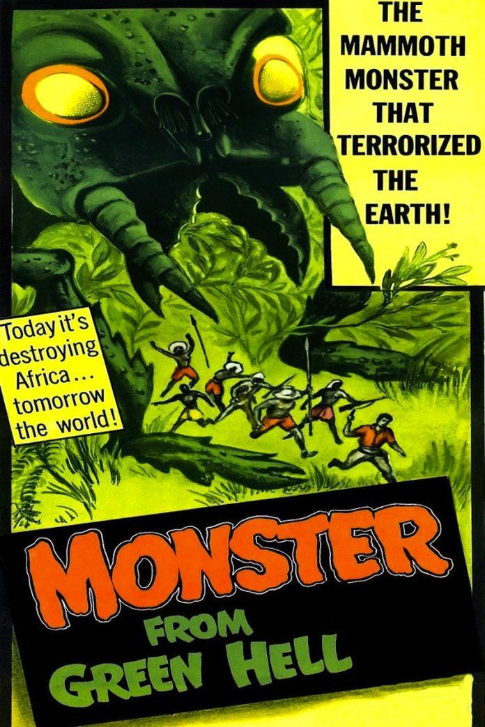 Monster from Green Hell horror movie poster