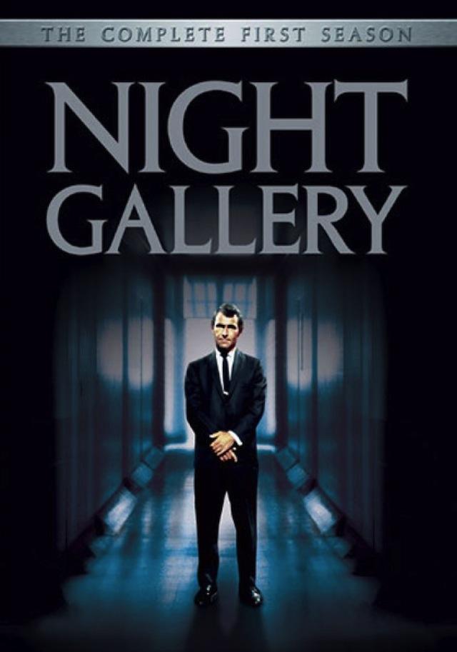 Rod Serling in Night Gallery movie poster