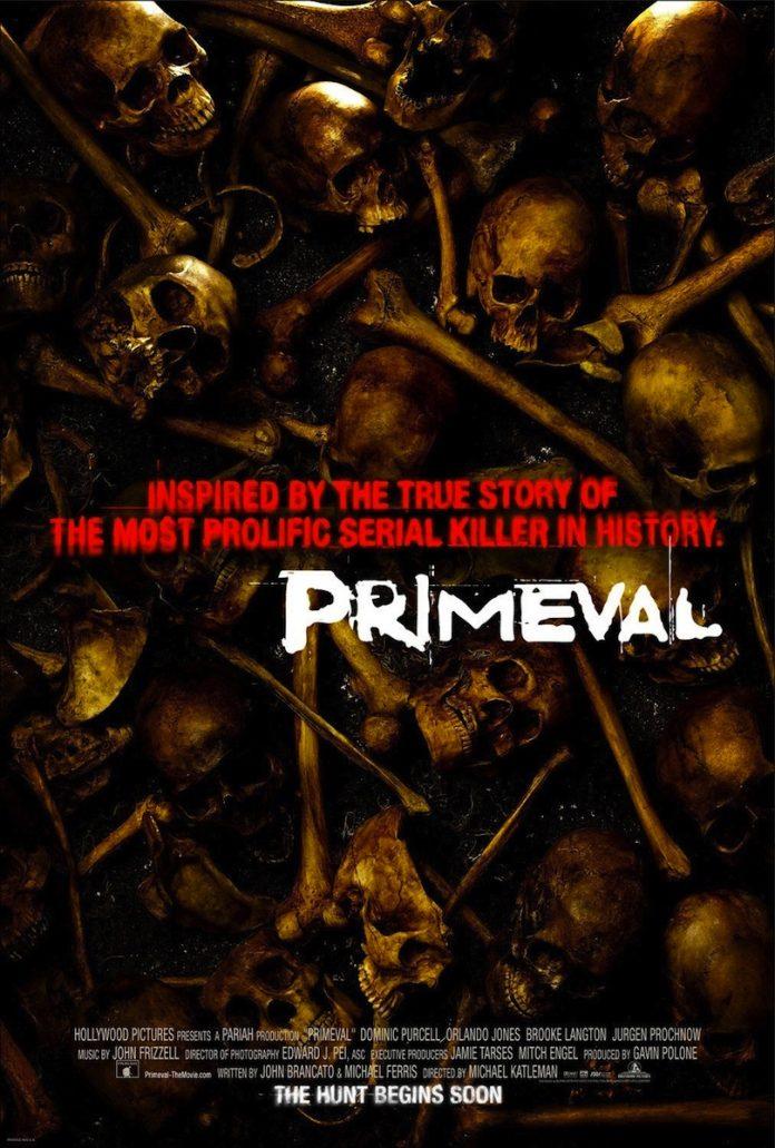 Primeval horror movie poster