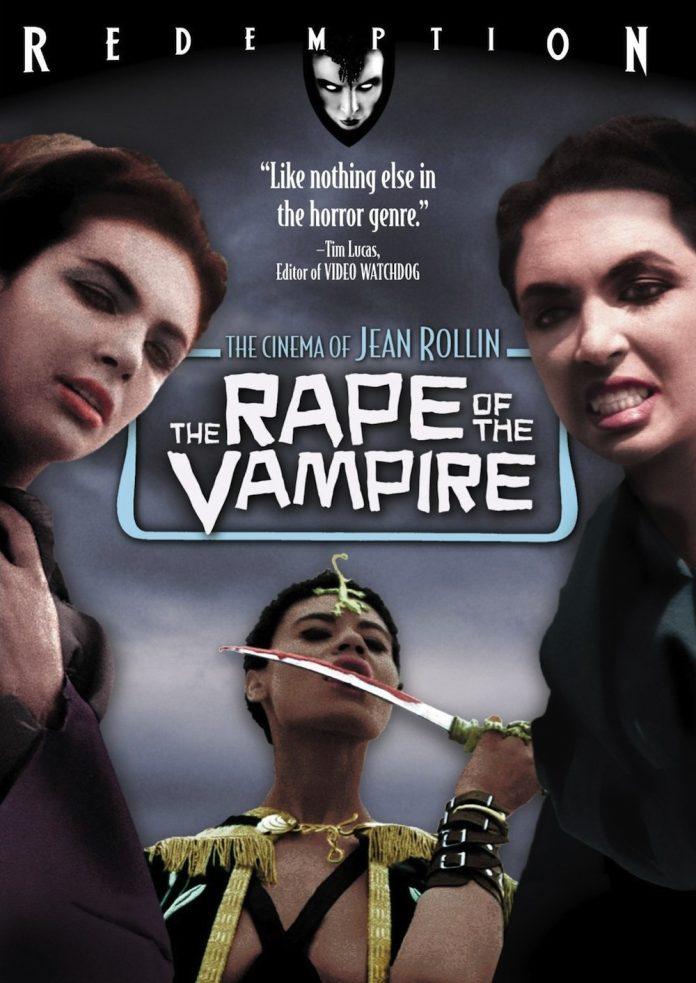 The Rape of the Vampire horror movie poster