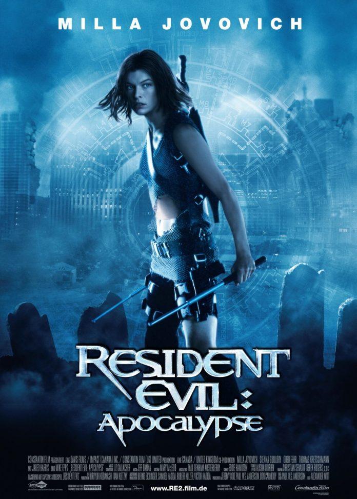 Resident Evil: Apocalypse movie poster