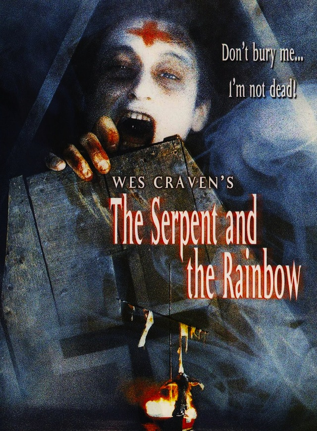 Wes Craven's The Serpent and the Rainbow horror movie poster