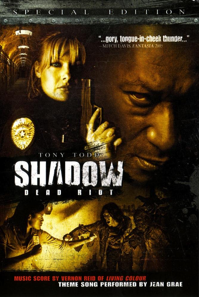 Shadow: Dead Riot horror movie poster
