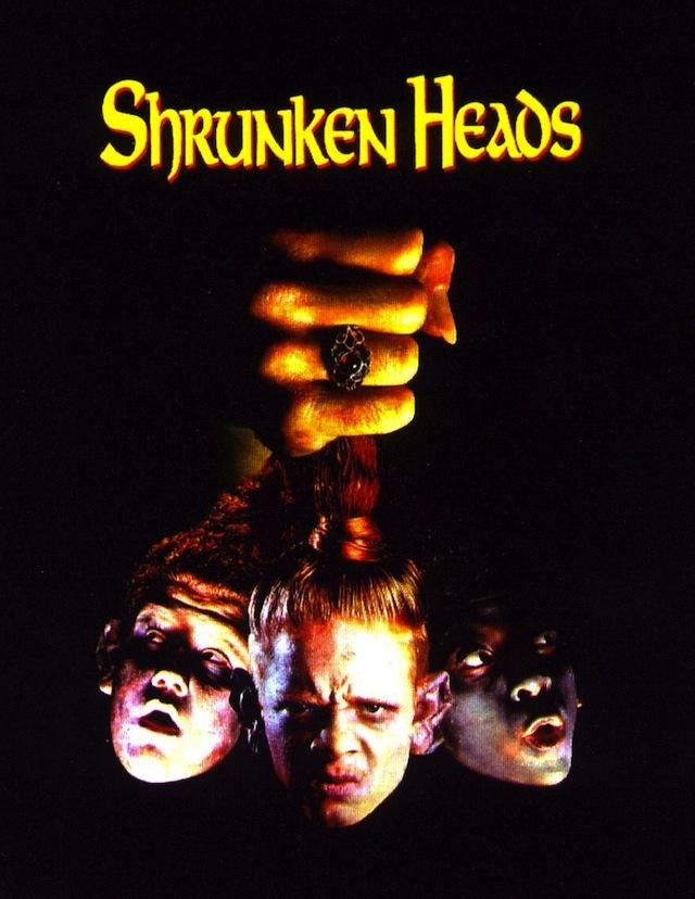 Shrunken Heads horror movie poster