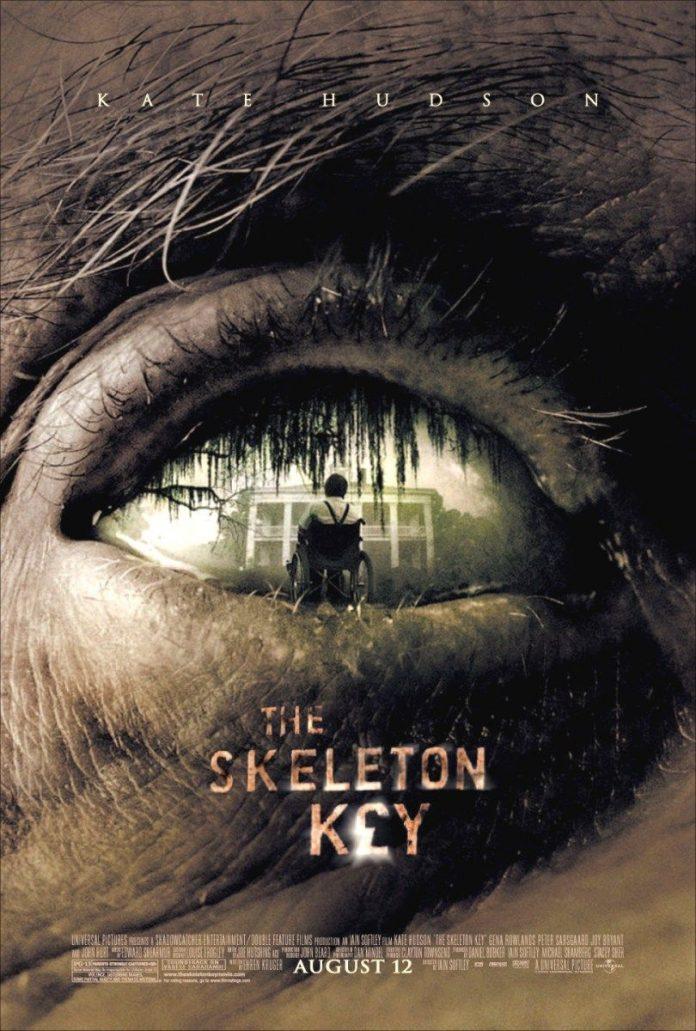 The Skeleton Key horror movie poster Kate Hudson voodoo hoodoo