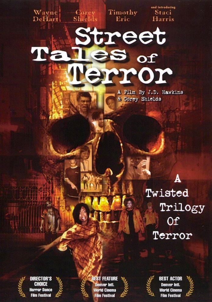 Street Tales of Terror horror movie poster