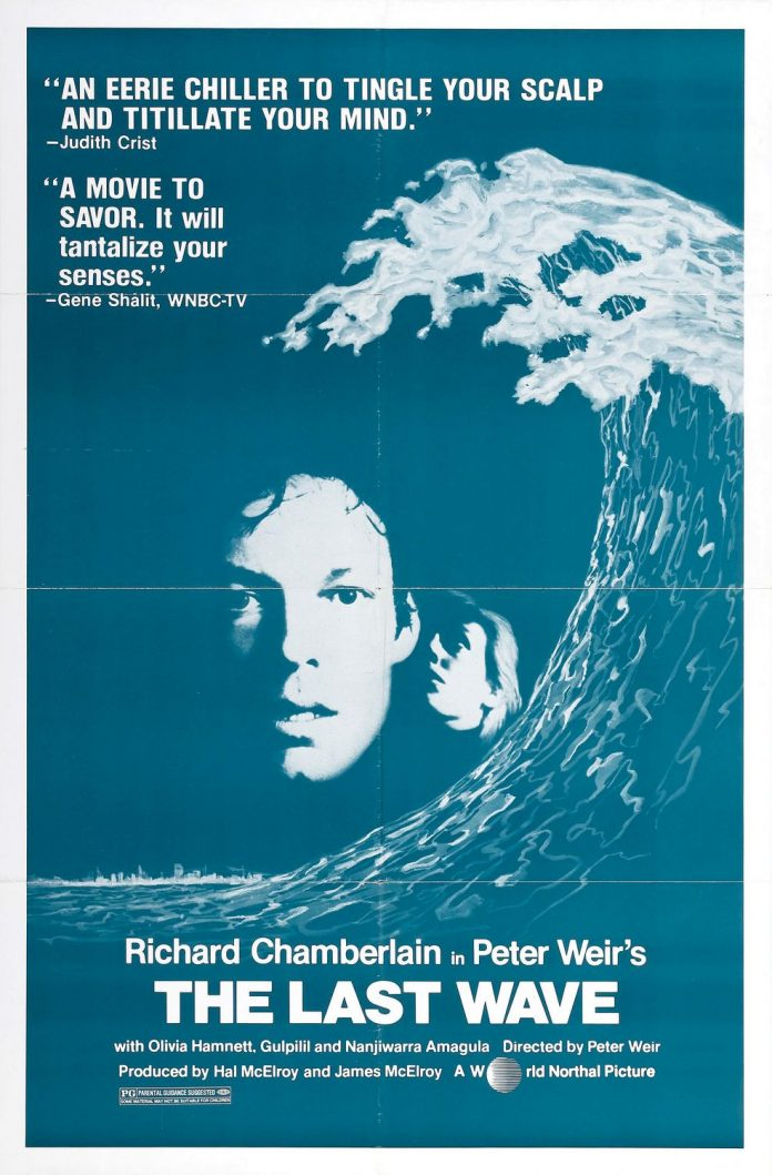 The Last Wave movie poster