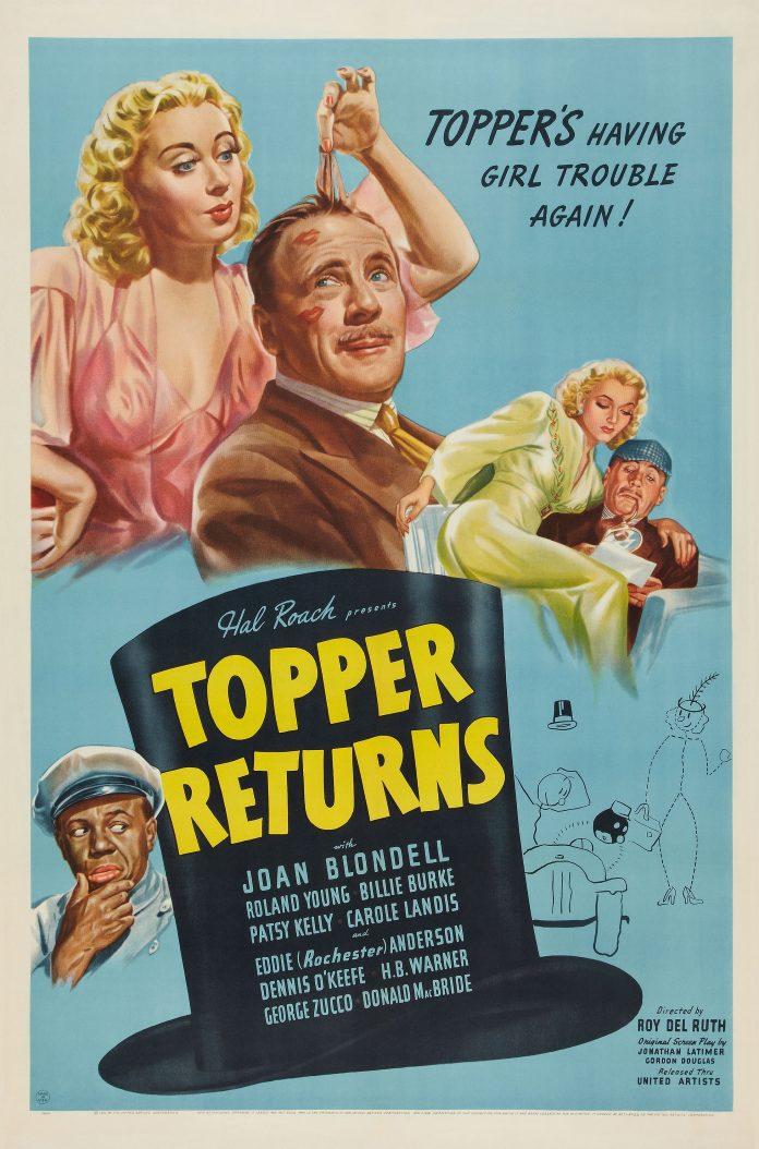 Topper Returns movie poster