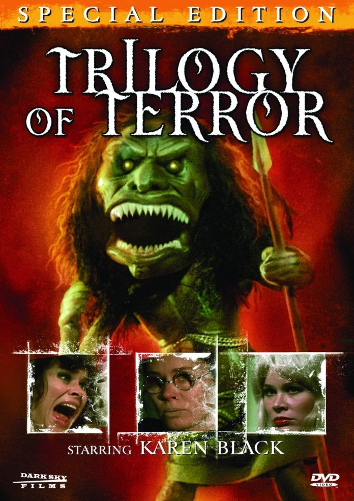 Trilogy of Terror horror movie DVD