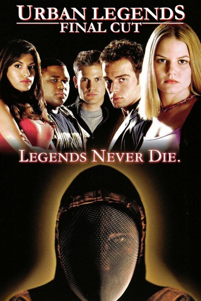 Urban Legends: Final Cut horror movie poster