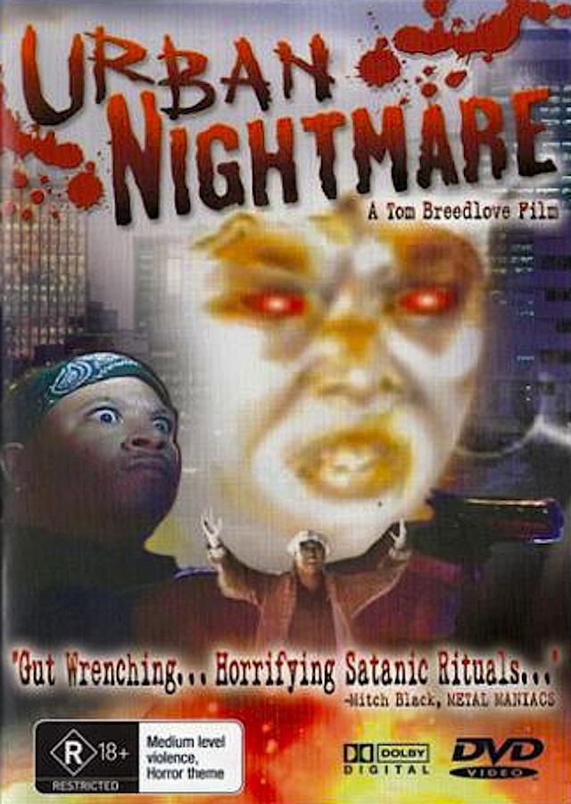 Urban Nightmare horror movie poster