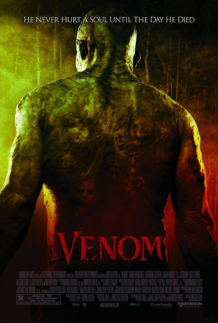 Venom horror movie poster
