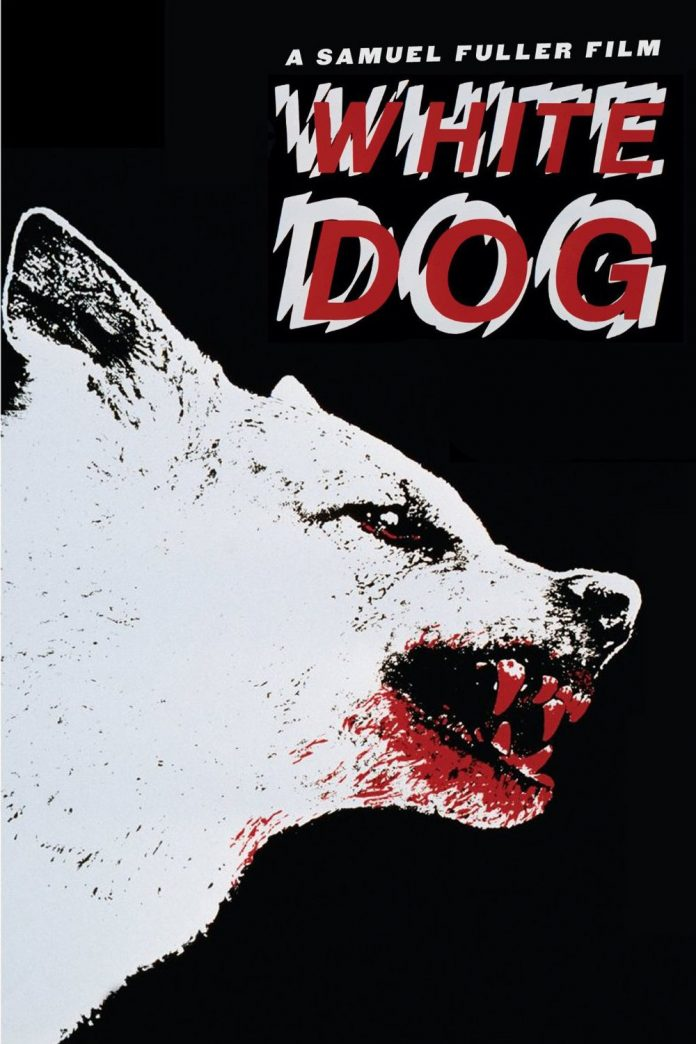White Dog movie poster