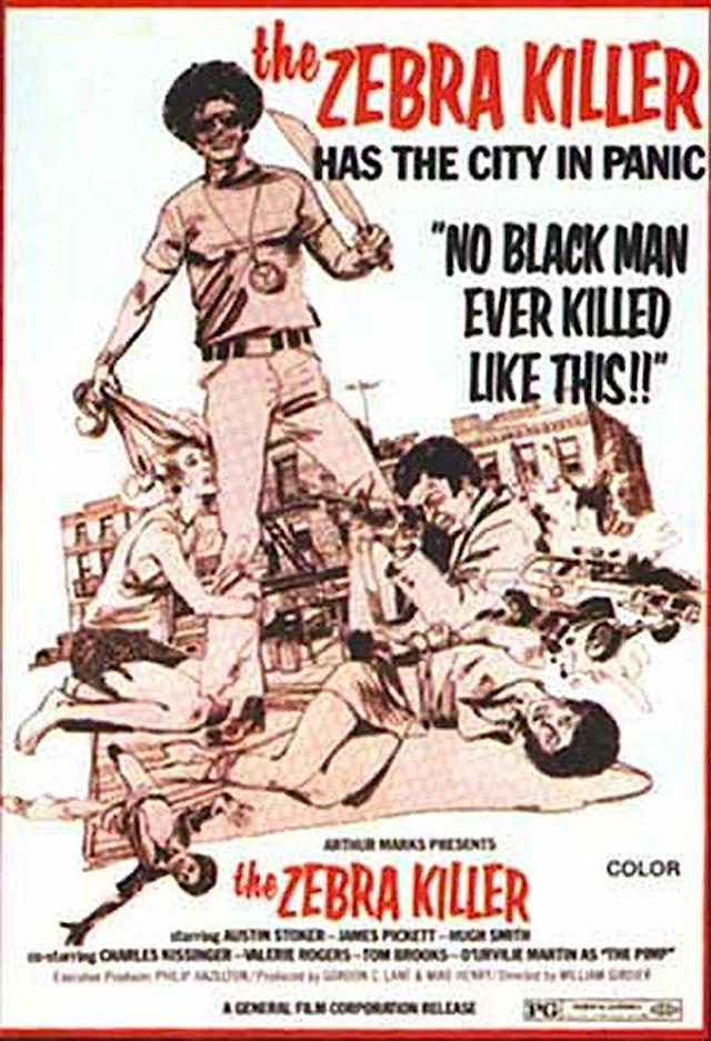 The Zebra Killer movie poster