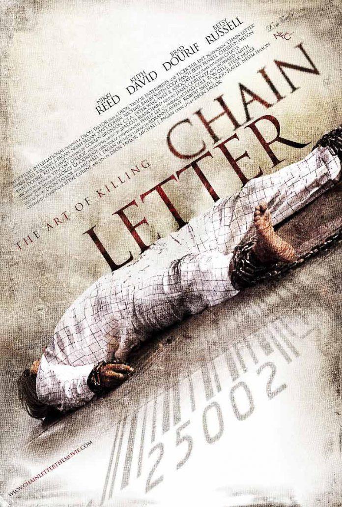 Chain Letter horror movie poster