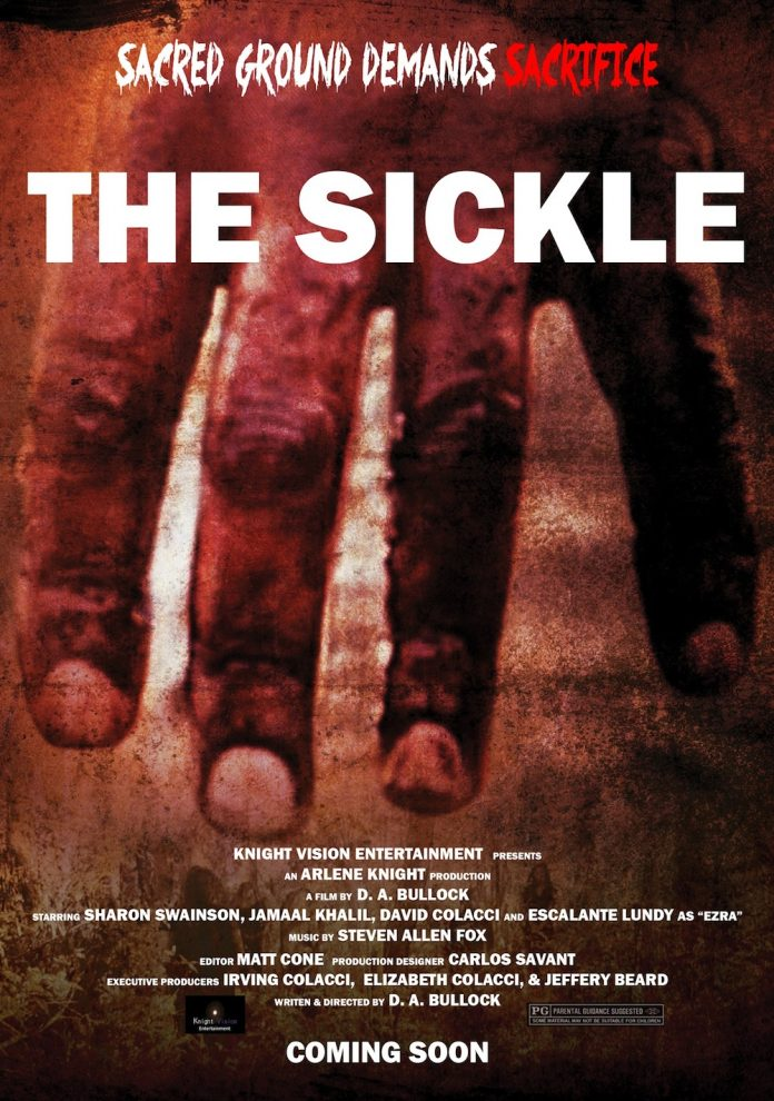 The Sickle horror movie poster