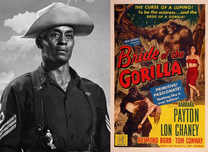 Woody Strode, Bride of the Gorilla
