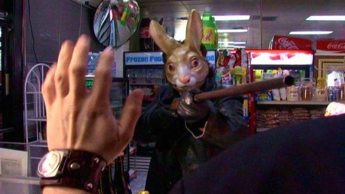 A scene from Easter Bunny, Kill! Kill!