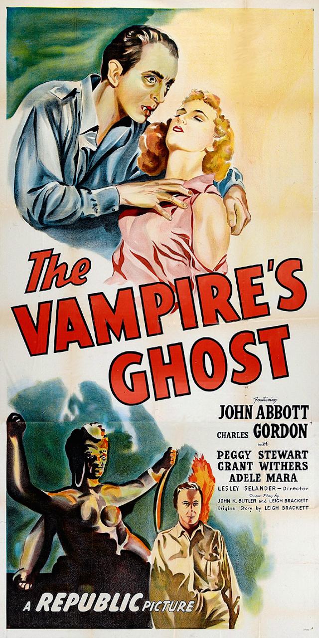 The Vampire's Ghost horror movie